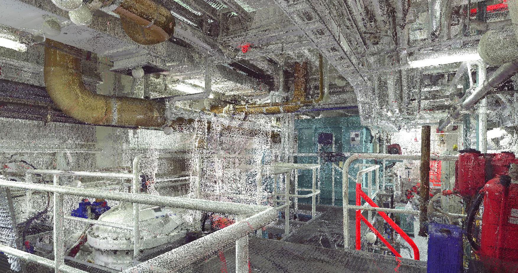 Tecnoteam srl , laserscan. navale, impianti chimici