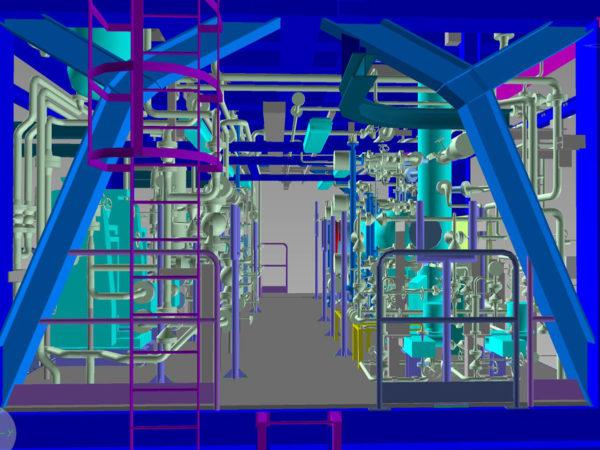 DONG ENERGY Impianto di trattamento GDU Gas Dehydration Unit