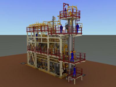 ISAB Impianto di Disidratazione Gas Sicilia - Italia