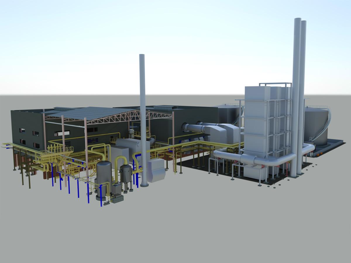 SFIR Brindisi impianto di cogenerazione da 39 MW