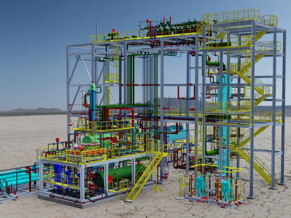 Saudi Arabian Oil Company Impianto di trattamento GDU