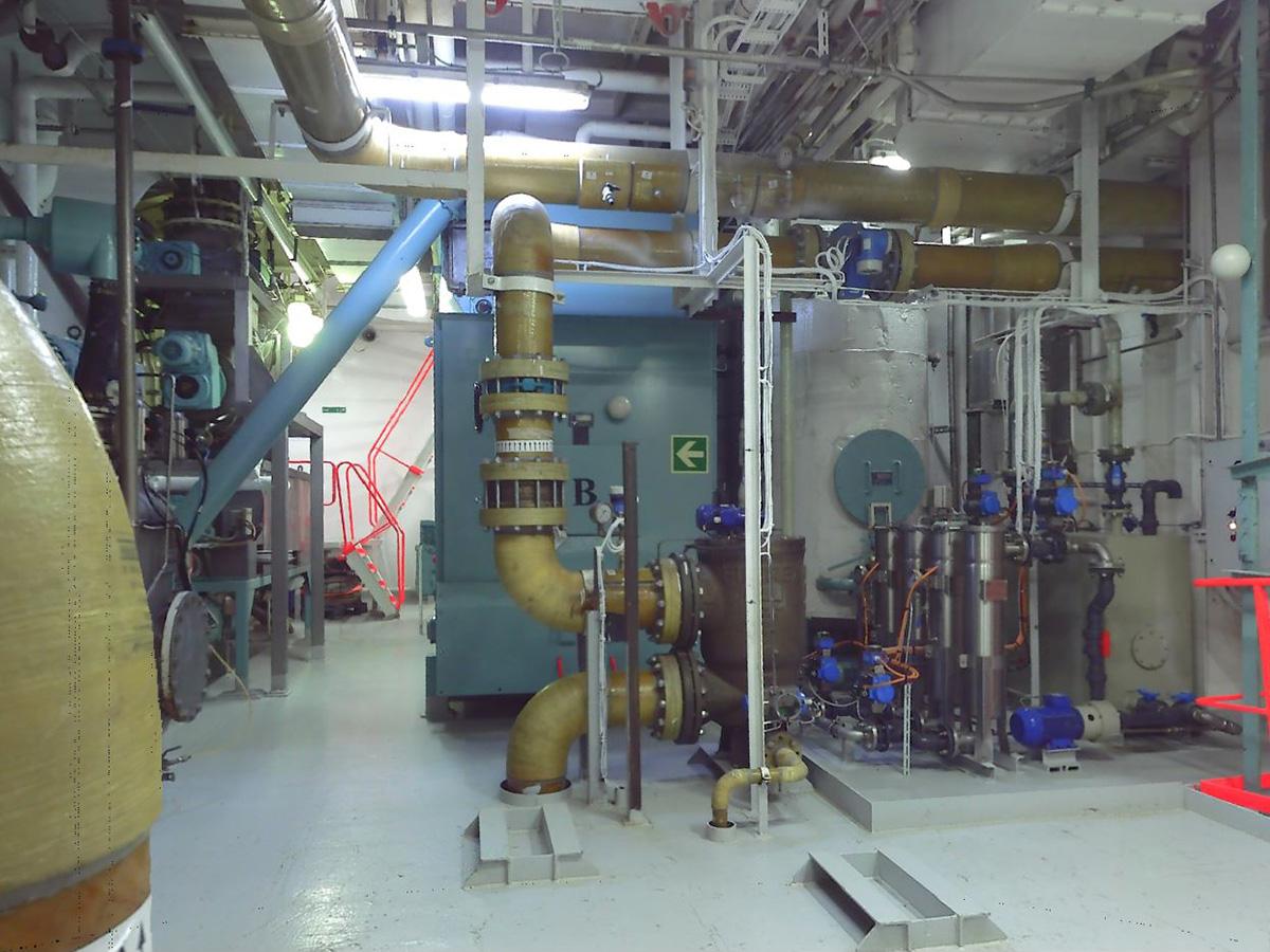 Costa Magica Impianto Trattamento Gas Scarico Motori